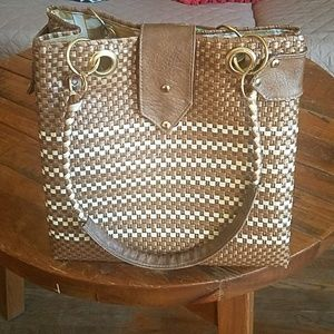 Handbags - beautiful bag expandable, made by hands by artisan